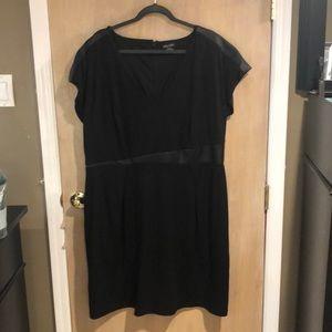 City Chic Black Dress Size XL/22